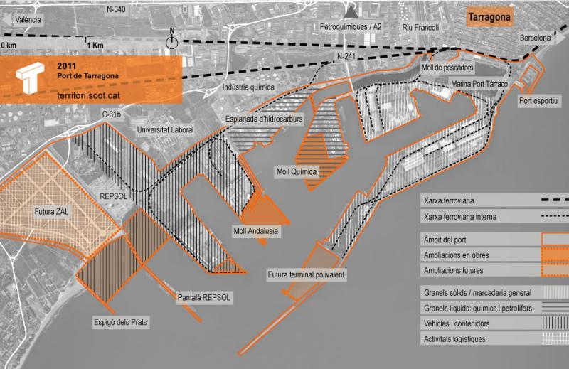 CiU exigirà dimarts a Foment un calendari 'concret' per a l'execució dels accessos ferroviaris al Port de Tarragona