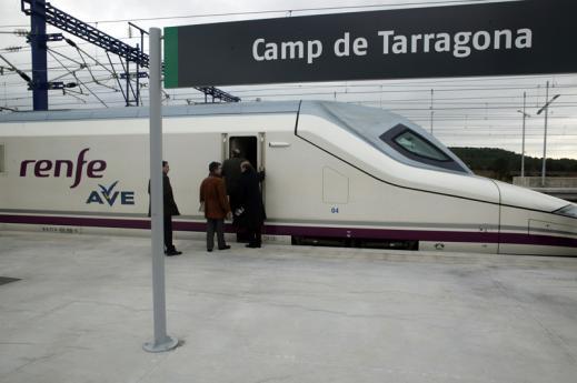 Més de tres milions de passatgers han utilitzat l'alta velocitat al Camp
