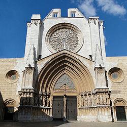Imatge renovada de la Catedral de Tarragona després d'un profund treball de restauració