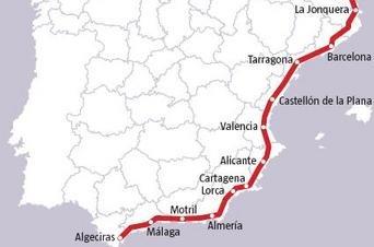 Salou obté la confirmació de Foment que les obres del corredor mediterrani es reprenen
