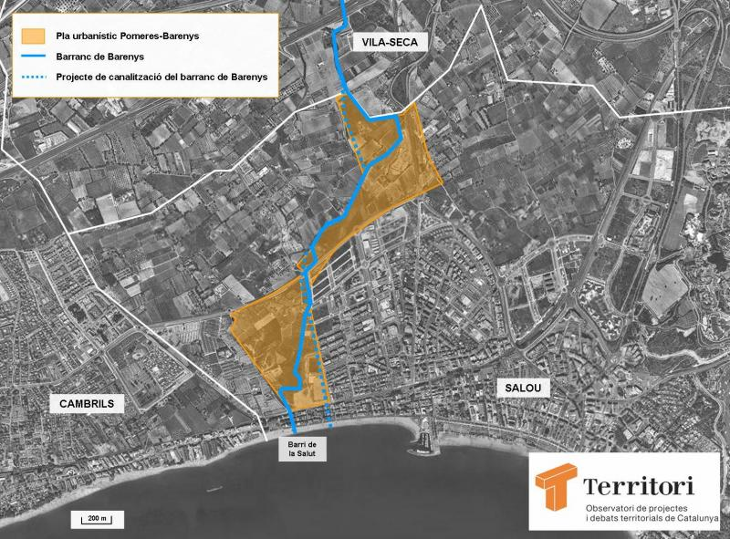 Les obres de millora de la zona de Barenys a Salou comencen aquest dilluns