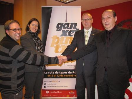 La segona edició de la Ganxet Pinxo reparteix 210.000 tapes a Reus