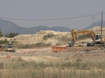 Denuncien l'ús d'una zona protegida a la Masó com a pedrera de l'A-27