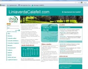 La Línia Verda de Calafell supera les 12.000 visites i els 400 usuaris registrats