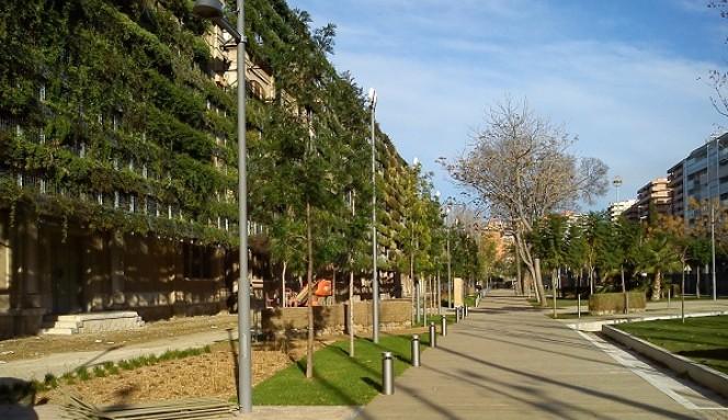 Els tarragonins ja poden passejar-se pels jardins de l'espai Tabacalera