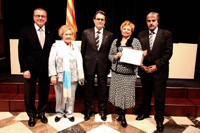 La Unió de Botiguers de Reus rep el premi a la Millor Iniciativa Territorial