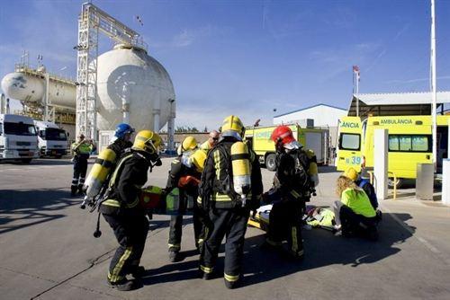 Un simulacre d'accident químic mobilitza més de 250 efectius i 4.800 escolars