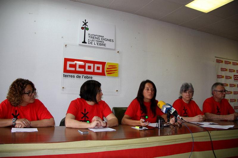 La Plataforma Trens Dignes vol la integració ferroviària entre l'Ebre i el Camp de Tarragona